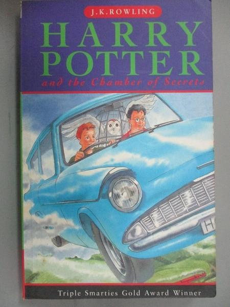 【書寶二手書T4/原文小說_LJF】Harry Potter and the Chamber Of Secrets_J.