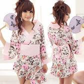 和服角色扮演服  cosplay  荷葉浪漫情趣和服性感睡衣(高檔品質)   8183