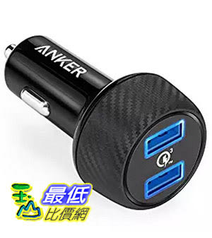 [美國直購] ANKER PowerDrive SPEED 2 39W 雙孔 QC3.0 車充 AK-A2228011