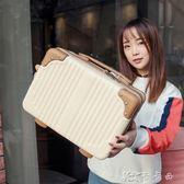 行李箱迷你可愛手提化妝包14 寸女生小洗漱包旅行收納包子箱多 化妝箱YYJ 卡卡西