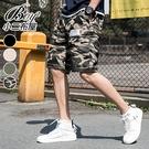 工作褲 潮流街頭大尺碼型男工裝短褲【NZ710118】