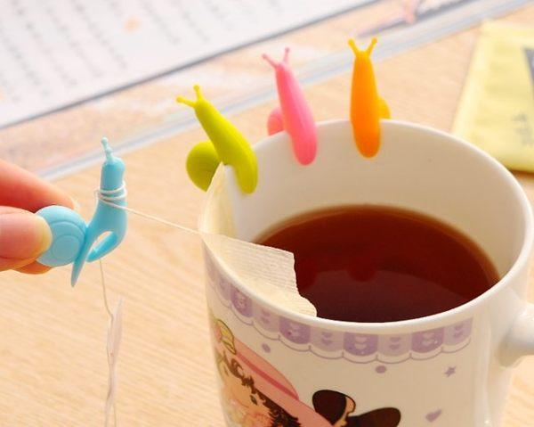 [協貿國際] 韓國可愛派對蝸牛矽膠掛茶包夾 (20個價)