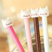 【BlueCat】溫柔腮紅小白貓水性筆