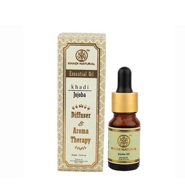 印度 Khadi 荷荷芭精油 10ml 新包裝 Herbal Jojoba Essential Oil【PQ 美妝】