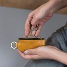 Alto 皮革鑰匙環零錢包 – 焦糖棕 ...