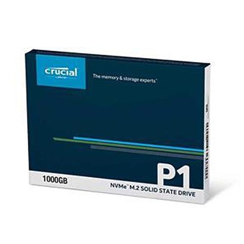 Micron 美光 Crucial P1 1TB PCIe Gen3x4 M.2 2280 SSD 固態硬碟 CT1000P1SSD8