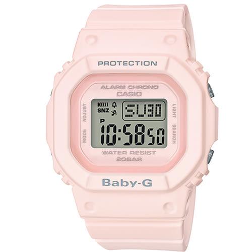 【僾瑪精品】CASIO 卡西歐 BABY-G 復刻經典休閒錶-粉紅/BGD-560-4