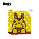 【Rody 跳跳馬】黃色方形雙層錢包