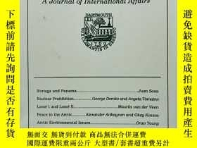二手書博民逛書店World罕見Outlook: A Journal of Int