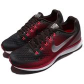 Nike 慢跑鞋 Wmns Air Zoom Pegasus 34 GEM 紅 黑 輕量緩震 氣墊 女鞋 運動鞋【PUMP306】 AH7949-200