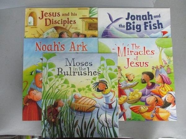 【書寶二手書T1/少年童書_PBU】Noah s Ark_Jesus and his Disciples等_共5本合售