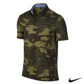 NIKE GOLF 男運動短袖POLO衫(迷彩綠)725544-325