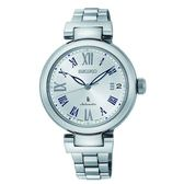 SEIKO LUKIA 林依晨新廣告款機械時尚腕錶 4R35-02X0S(SRP851J1)銀