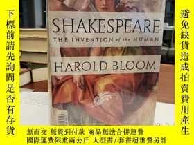 二手書博民逛書店Shakespeare:罕見The Invention of the HumanY94537 Harold B