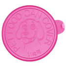 RICHELL.8924狗罐頭蓋(桃紅色一組2入),保鮮蓋,放冰箱湯汁不會乾掉 適合一般的大狗罐