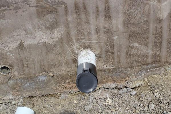 """[ 家事達] ERIC-BA103 排水管逆止閥-4""""X2 個 特價"""