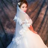新娘頭紗頭飾超仙