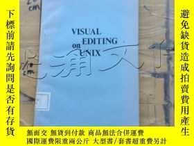 二手書博民逛書店visual罕見editing on unixY252403 k