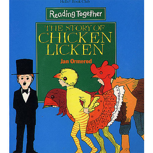 【Reading Together】The Story of Chicken Licken(1Book + 1CD)