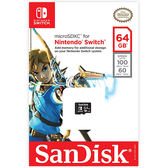 [哈GAME族]免運費 可刷卡●官方授權●SanDisk 任天堂 Nintendo SWITCH 專用 microSDXC 64G 記憶卡