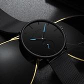 2019新款創意概念光學魅影網紅手錶男 抖音同款機械防水簡約男錶