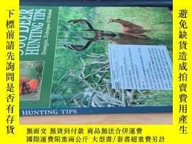 二手書博民逛書店500罕見deer hunting tipsY400643