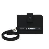 PLAYBOY- 證件夾 allblack系列 -黑色