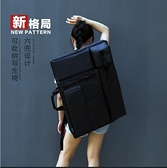 畫板袋畫包素描畫板袋藝考專用寫生畫袋4k多功能加大畫畫美術包防水加厚 交換禮物 YYP