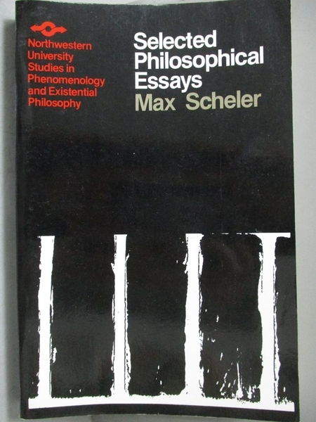 【書寶二手書T6/哲學_ZBL】Selected Philosophical Essays_Scheler, Max