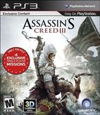 PS3 Assassin s Creed III 刺客教條 3(美版代購)