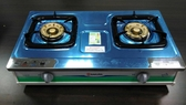 【中彰投 】櫻花不鏽鋼雙口安全瓦斯爐天然,G611K SLN 【   免 】