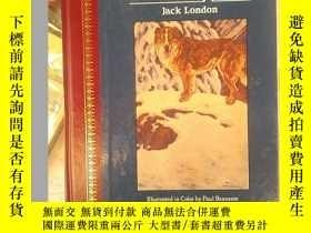 二手書博民逛書店the罕見call of the wild[野性的呼喚]Y15878 Iack London 出版1991