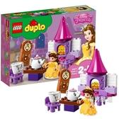 積木得寶系列10877貝兒公主的下午茶積木玩具xw