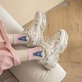 新款鞋子老爹鞋女ins超火網紅顯腳小女休閒運動鞋女學生韓版快速出貨