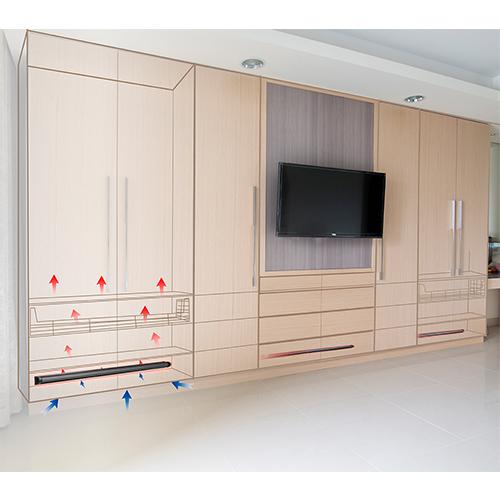 《愛樂美》 櫥櫃專用除濕棒x3支