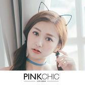 髮帶 貓耳朵髮箍髮飾飾品 PINK CHIC 3567