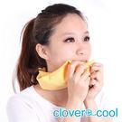 里和Riho 領巾 冰涼巾 路跑巾 萊姆黃 瞬間涼感多用途 SGS檢測不含塑化劑 台灣製造 冰領巾