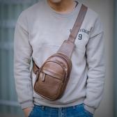 時尚簡約胸包男新款潮流青年韓版百搭迷你小號單肩手機斜跨包Mandyc