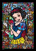 【拼圖總動員 PUZZLE STORY】白雪公主 日本進口拼圖/Tenyo/迪士尼/266P/透明塑膠