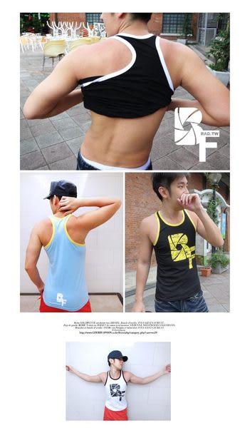 奢華壞男《 BF限量款 - 合身超彈性挖背背心 》6色【S / M / L / XL 】(潮T、上衣、短袖、服飾)