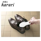 日本Karari珪藻土脫臭鞋片L白2入裝