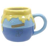 sun-art 造型馬克杯 450ml 蜂蜜罐 藍_NR25488