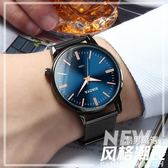 男士手錶防水時尚款新品正韓簡約非機械女錶森系學生情侶手錶