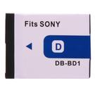 Kamera Sony NP-BD1 NP-FD1 高品質鋰電池 G3 TX1 T2 T70 T77 T90 T200 T300 T500 T700 T900 保固1年 FD1 BD1