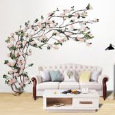 仿真玫瑰花塑料絹花藤蔓客廳【非主圖款】