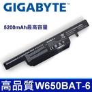 GIGABYTE W650BAT-6 電池 P15F P17F Q2546 Q2556 Q2756 Q2546N Q2556N CJSCOPE QX350 喜傑獅 W6500 K570N N650BAT-6