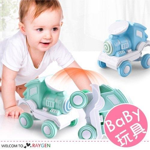 慣性玩具車按壓小火車特技翻斗 兒童玩具