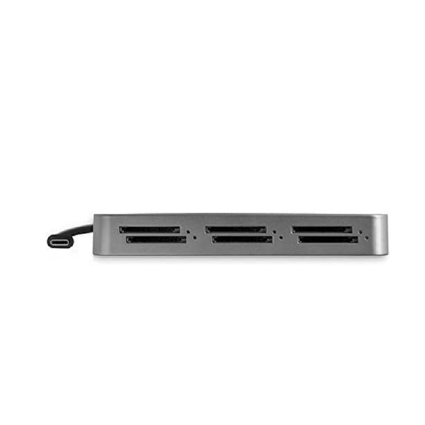 [2美國直購] StarTech.com 6插槽 Thunderbolt 3 SD卡讀取器 SD/SDHC/SDXC - SD 4.0 UHS-II - TAA Compliant (6SD4FCRTB3C)