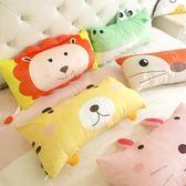抱枕 睡枕 森林動物柔軟羽絨棉可拆洗臥室兒童床枕頭午休枕靠枕沙發抱枕 igo 歐萊爾藝術館
