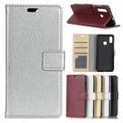 HTC U19e U12+ U11+ 荔枝紋皮套 手機皮套 插卡 支架 掀蓋殼 保護套